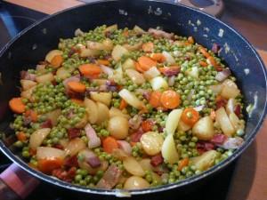 Les petits pois frais sont pr ts au petit grain bio - Comment cuisiner les petits pois ...